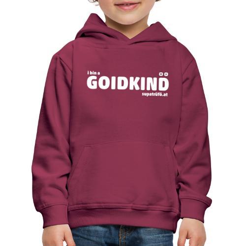 supatrüfö GOIDKIND - Kinder Premium Hoodie