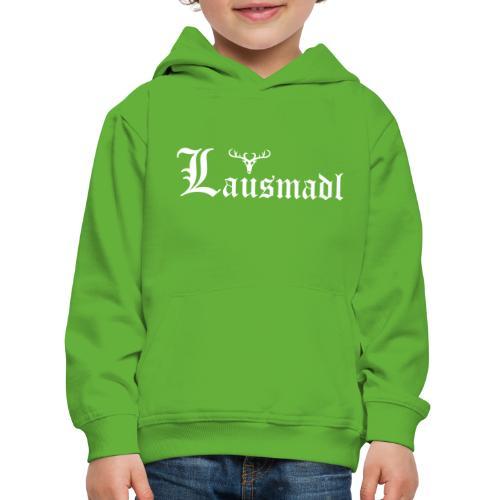 Lausmadl mit Hirsch - Kinder Premium Hoodie