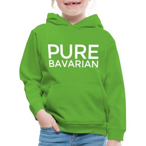 PURE BAVARIAN - Pures Bayern Design - Kinder Premium Hoodie