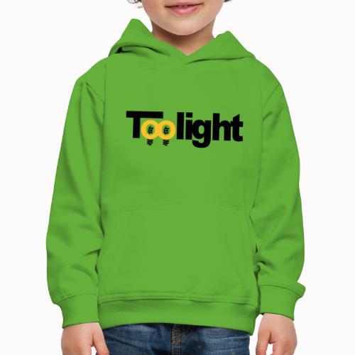 toolight off - Felpa con cappuccio Premium per bambini