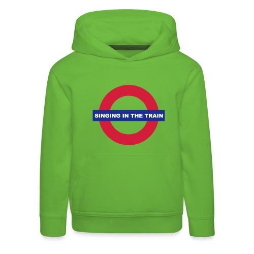 Singing in the train - Kinder Premium Hoodie