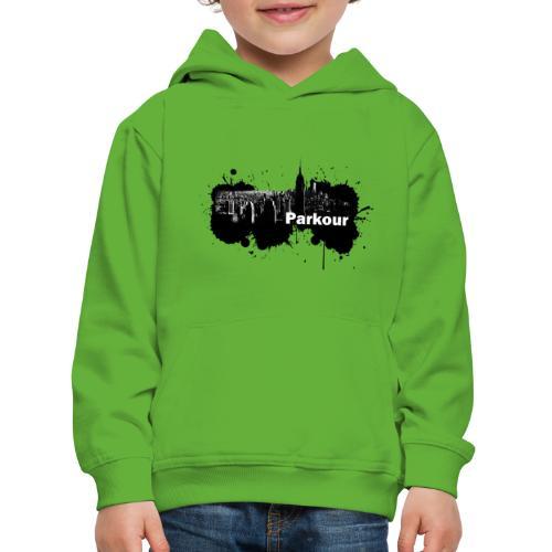 Parkour Splash New York - Premium hættetrøje til børn