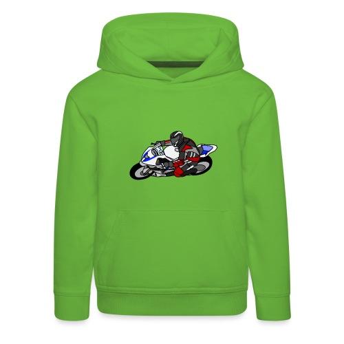 Rennfahrer I - Kinder Premium Hoodie