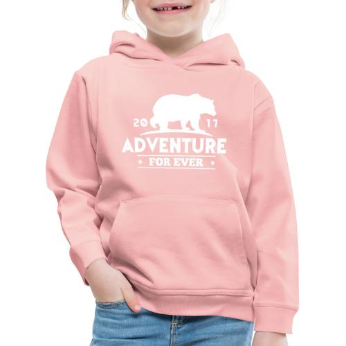 ADVENTURE FOR EVER - GRIZZLY - Felpa con cappuccio Premium per bambini