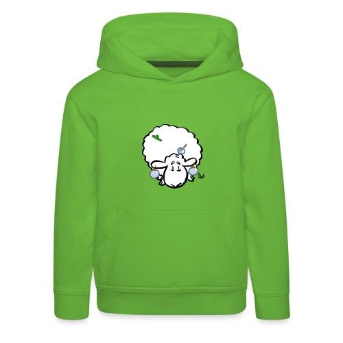 Owca choinkowa - Bluza dziecięca z kapturem Premium