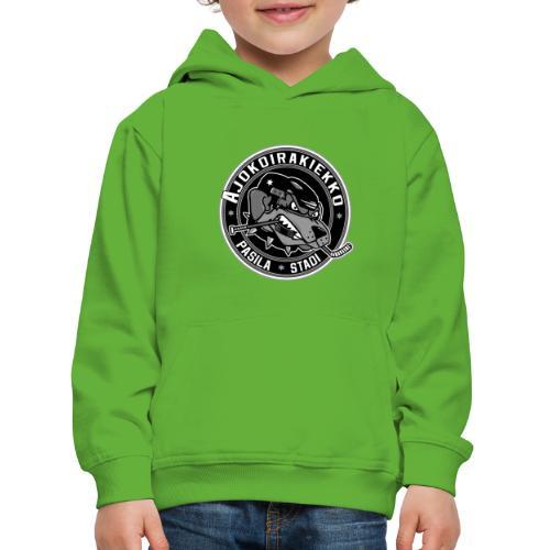 Ajokoirakiekko logo - Lasten premium huppari