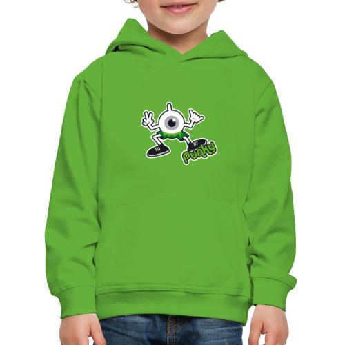 Punky Full (Color) - Pull à capuche Premium Enfant