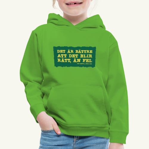 Kenttä citat - Premium-Luvtröja barn