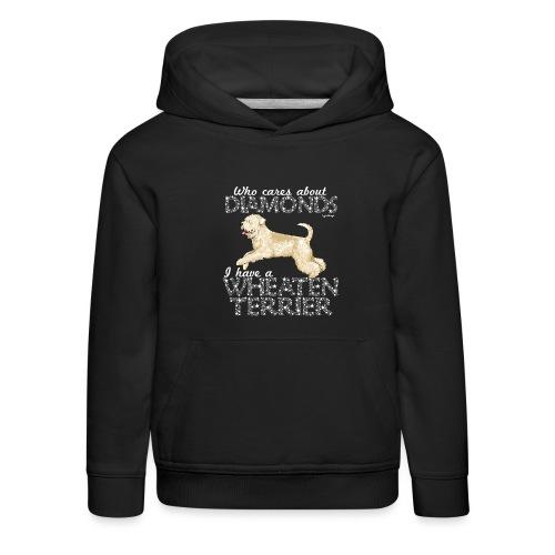 Wheaten Terrier Diamonds 4 - Kids' Premium Hoodie