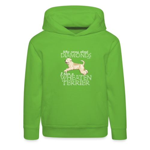 Wheaten Terrier Diamonds 4 - Kids' Premium Hoodie