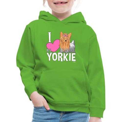 I love my Yorkie - Lasten premium huppari