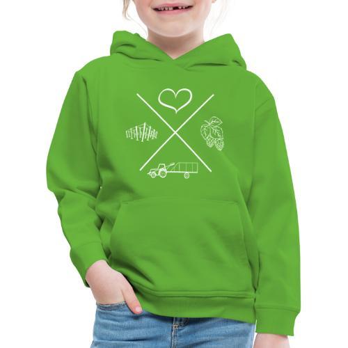 MiaSanHolledauerKind - Kinder Premium Hoodie