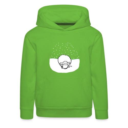 Schneebedeckte Schafe - Kinder Premium Hoodie