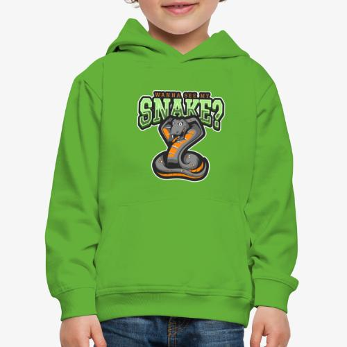 Wanna see my Snake III - Lasten premium huppari