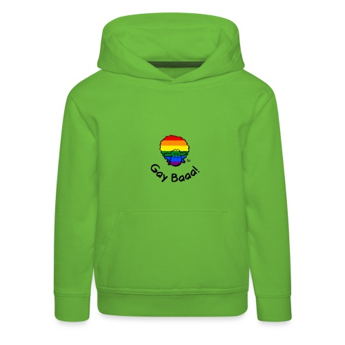 Gay Baaa! Rainbow Pride Sheep - Kids' Premium Hoodie