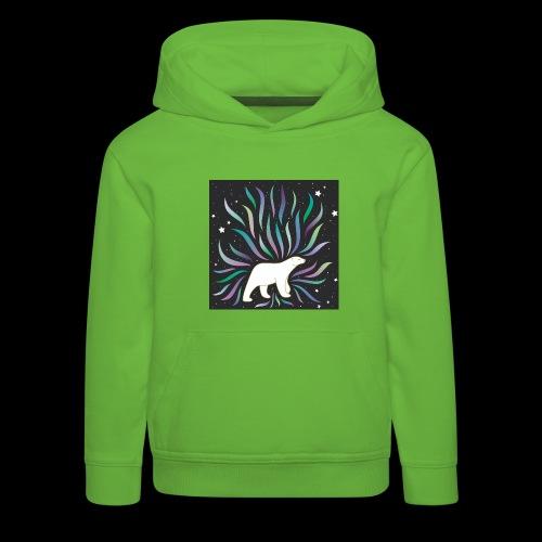 polar ours - Pull à capuche Premium Enfant