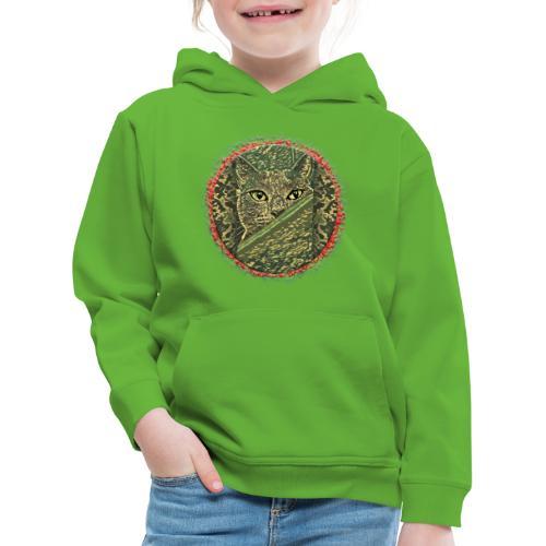 CAT GRACE CAMOUFLAGE - Kinder Premium Hoodie