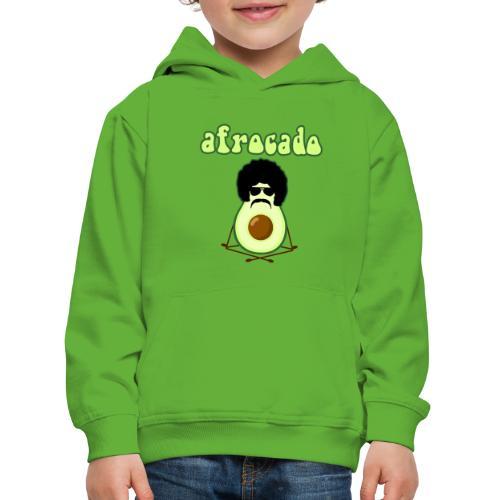 afrocado avocado yoga namaste hippie pace amore - Felpa con cappuccio Premium per bambini