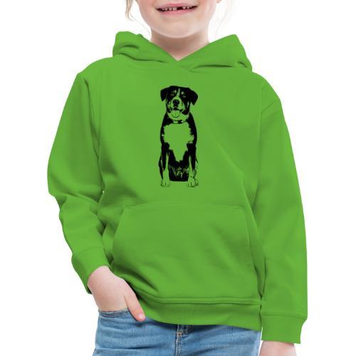 Entlebucher Sennenhund Hunde Design Geschenkidee - Kinder Premium Hoodie