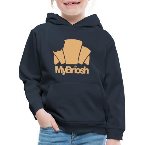 LogoMyB - Felpa con cappuccio Premium per bambini