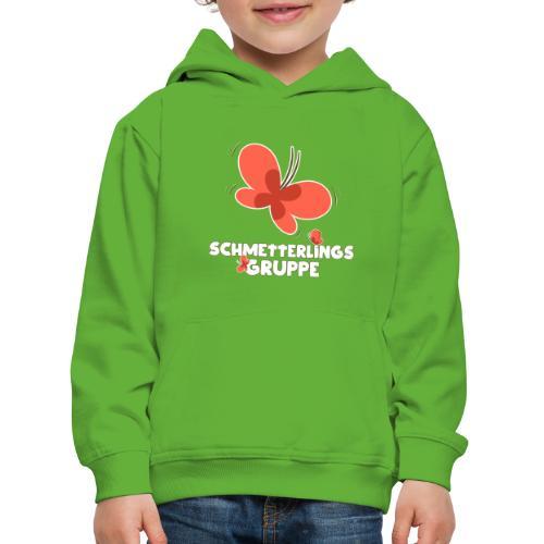 Schmetterling Gruppe Kindergarten - Kinder Premium Hoodie