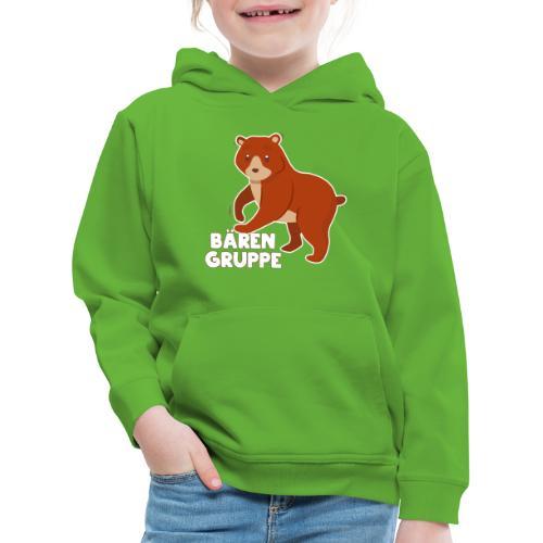Bären Gruppe Kindergarten - Kinder Premium Hoodie