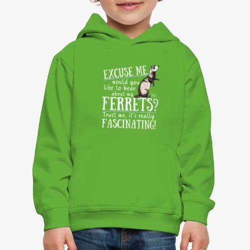 Excuse my Ferrets IV - Lasten premium huppari