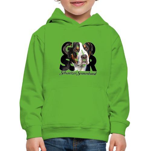 Grosser Schweizer Sennenhund Dark - Lasten premium huppari