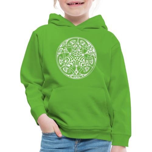 Old Celtic Birds Ornament Mandala 2 - Kinder Premium Hoodie