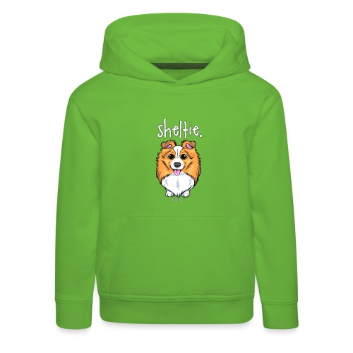 Sheltie Dog Cute 5 - Kids' Premium Hoodie