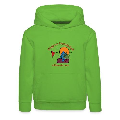 Ullihunde - Wege zur Freundschaft - Kinder Premium Hoodie