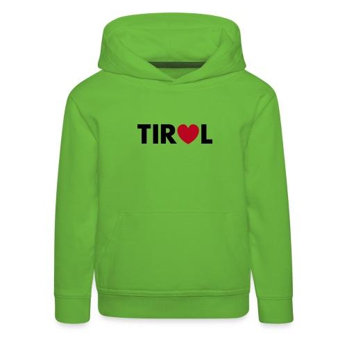 i love tirol - Kinder Premium Hoodie