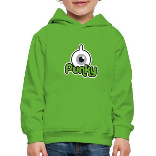 Punky Label (Color) - Pull à capuche Premium Enfant