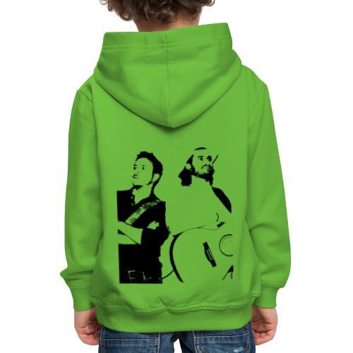 Das Schwarz-Weiße Bild - Kinder Premium Hoodie