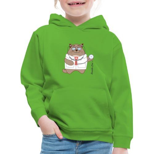 Katzen Arzt - Sancho Cat © - Kinder Premium Hoodie