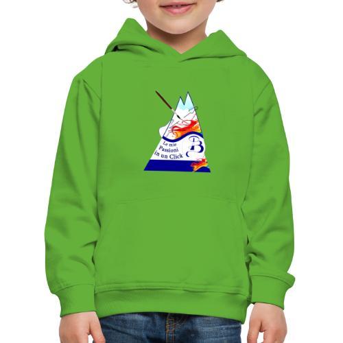 Logo colori - Felpa con cappuccio Premium per bambini