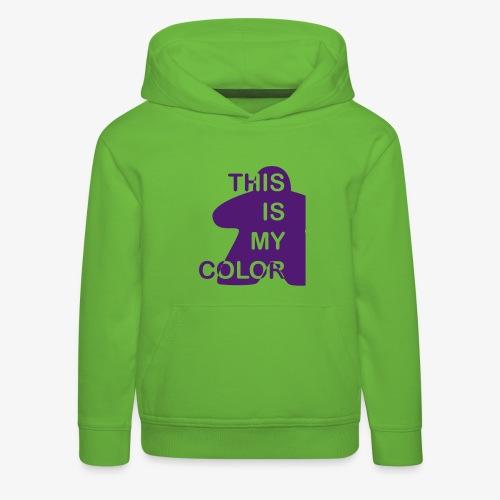 That is my Color - Premium Barne-hettegenser