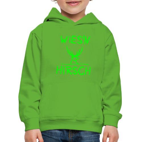 Wiesn Hirsch! Oktoberfest - Kinder Premium Hoodie