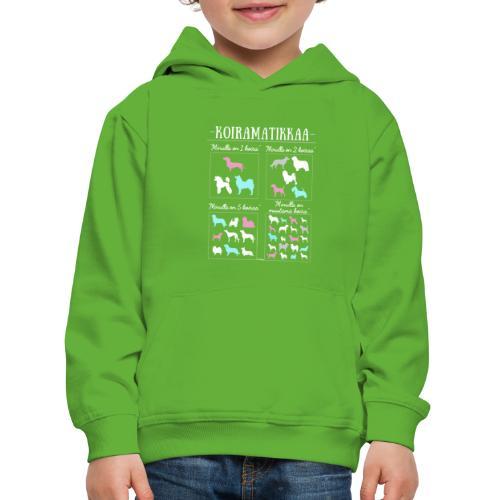 Koiramatikkaa II - Lasten premium huppari