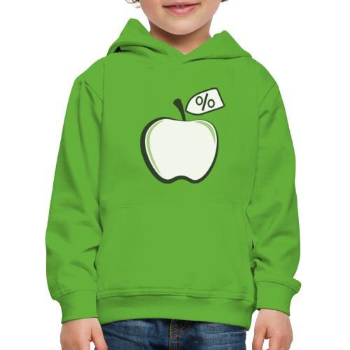Sund på budget logo til mørke produkter - Premium hættetrøje til børn