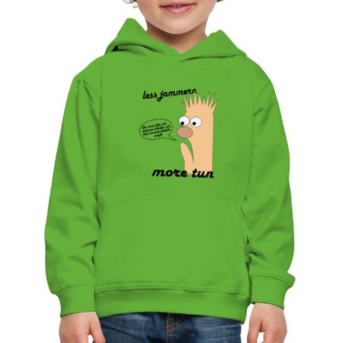 more tun - Kinder Premium Hoodie