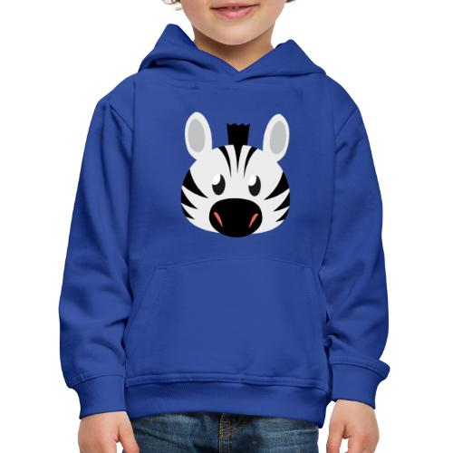 Zebra Zoe - Kids' Premium Hoodie