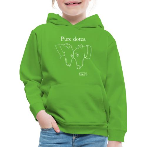 Greyhounds are Pure Dotes - Kids' Premium Hoodie