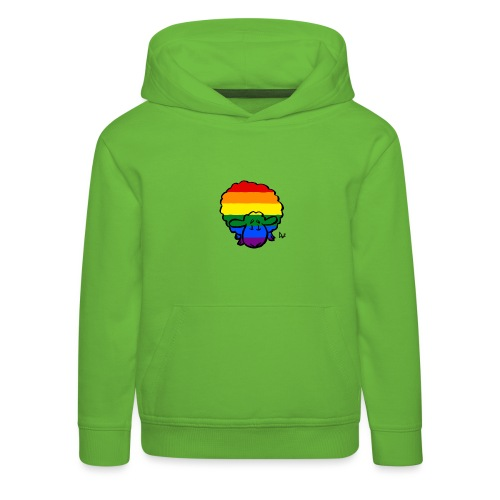 Rainbow Pride Sheep - Premium Barne-hettegenser