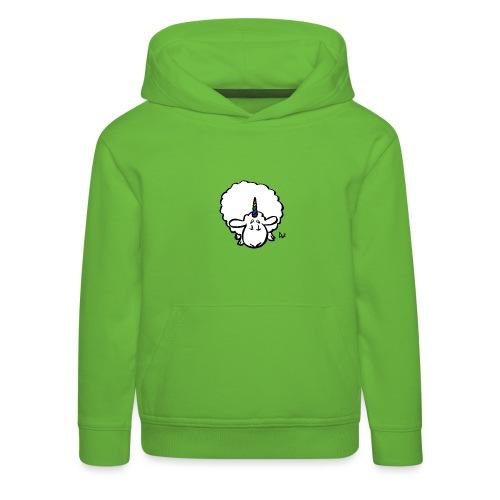 Ewenicorn - to tęcza jednorożca owiec! - Bluza dziecięca z kapturem Premium