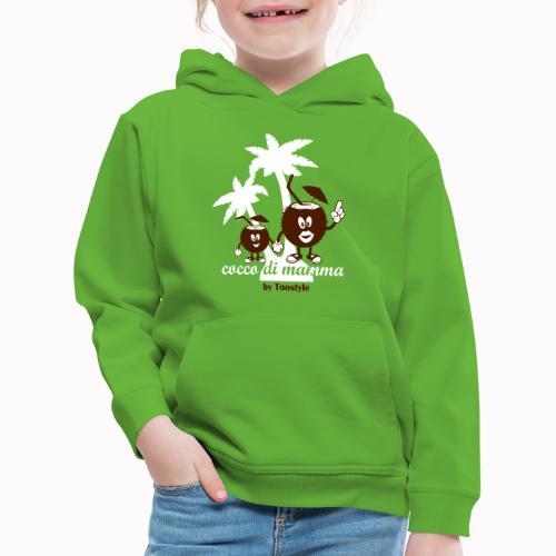 cocco di mamma tra le palme - Felpa con cappuccio Premium per bambini
