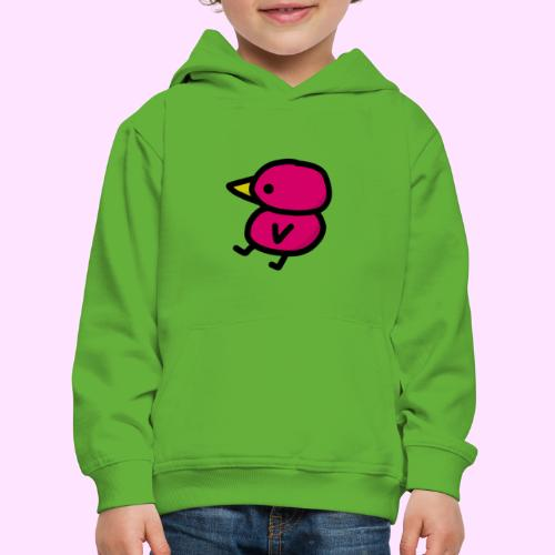Pinkguin - Premium hættetrøje til børn