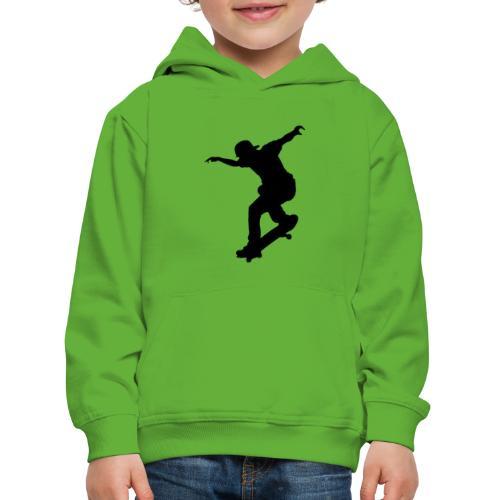 Skater - Felpa con cappuccio Premium per bambini