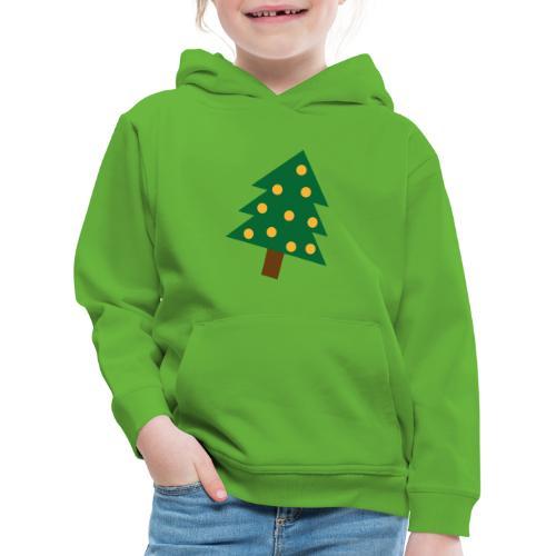Weihnachtsbaum gold grün - XMAS - Merry Christmas - Kinder Premium Hoodie