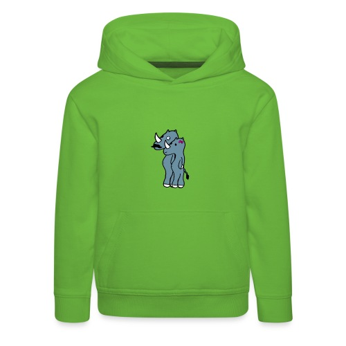 rino hommies - Felpa con cappuccio Premium per bambini